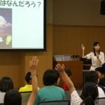 秋田県東成瀬村でわくわくお天気教室を開催しました(2015年5月30日)