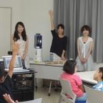 新潟県三条市でわくわくお天気教室を開催しました(2015年8月2日)