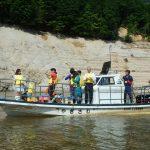 矢木沢ダム見学会が開催されました(2016年6月18日)
