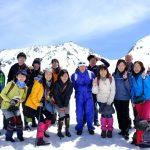 気象環境ツアー『雪の大谷で雪を学ぶツアー』(2018年4月21~22日)
