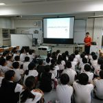 三浦工業・読売新聞「プラネタリウム環境教育プロジェクト」の出前授業を行いました(2019年7月3日)