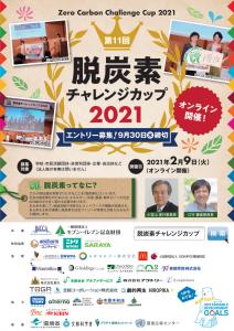 脱炭素チャレンジカップ2021 絶賛募集中!