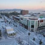 鹿児島の大雪の様子