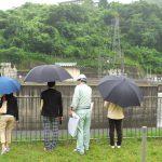 気象環境ツアー『釜房ダムの見学と河川勉強会』を開催しました(2019年7月6日)